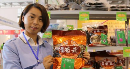 广西天峨县农业产业协会尚思思:野生香菇 迷你没商量