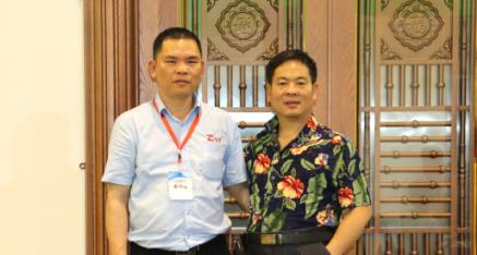 中华产品网唐国宣采访广西祖昌门业公司潘祖昌董事长