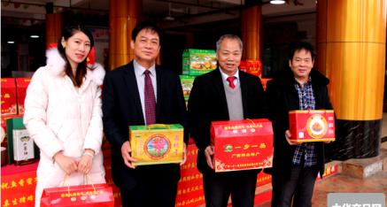 中华产品网副总编唐国宣采访广西坤烈实业和记开户李坤烈