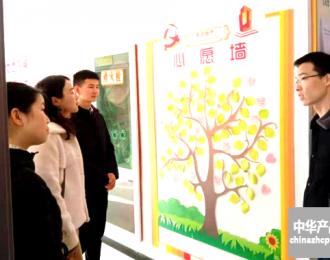 陕西省惠达公司党支部党组织标准化接受县级检阅