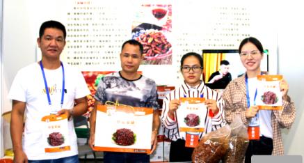 柳城县壮香食品公司:蚕宝宝 营养价值高